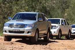 Can the Toyota Hilux hold on to its title as Australia's best-selling four-wheel drive? Or will it be the Mitsubishi Triton?  Find out what the top 10 most popular 4x4s are in Oz for 2015.