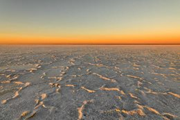 South Australia's Lake Eyre is big, dry and stark, providing a surreal outback adventure