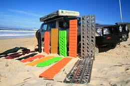 Recovery Boards: 4x4 Beach Test