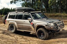 Nissan Patrol gets V8 military might