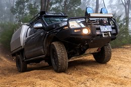 Stretched Toyota Hilux
