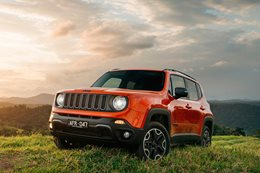 2015 Jeep Renegade soft-roader
