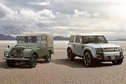 Land Rover History