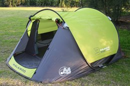 Malamoo 3-second Oztent product test