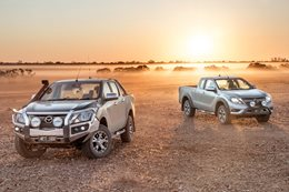 Exploring outback South Australia in the Mazda BT-50