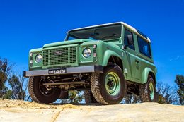 Land Rover Defender 90 Heritage Edition