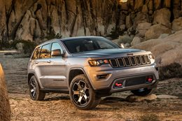 Jeep Grand Cherokee Trailhawk set for Australia