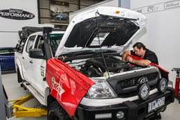 Project Toyota HiLux gets Harrop ELocker