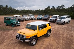 Paying homage to the Toyota FJ Cruiser
