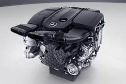 New Mercedes-Benz Diesel engine