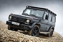 Mercedes-Benz G350d Professional announced