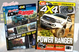 4X4 Australia July 2016 edition with bonus LowRange DVD