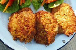 Recipe: Rösti tuna cakes
