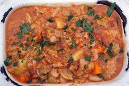 Recipe: Ribollita (Tuscan Vegetable Soup)