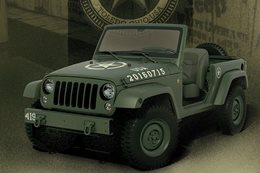 Jeep unveils Wrangler 75th Salute concept