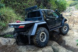 Mitsubishi Triton ML: Custom 4x4