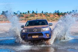 Toyota Hilux electronics tested on the Canning Stock Route