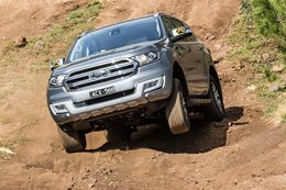 Ford announces five-seat Everest
