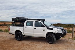 Project Toyota Hilux winner claims prize
