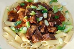 Recipe: Camp cheat's beef stroganoff