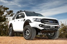 Harrop Engineering modifies Ford Ranger