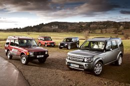 Land Rover Discovery History (1989-2014)