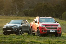 Video: Holden Colorado challenges the Toyota Hilux