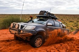 Toyota Hilux takes on the Simpson Desert