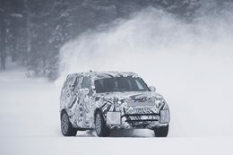Fifth-gen Land Rover Discovery in Action