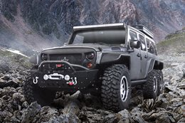 6X6 Jeep Wrangler: G Patton Tomahawk