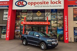 Opposite Lock's Ford Ranger build