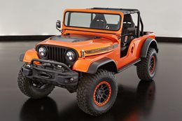 Jeep Wrangler CJ66 showcases new Mopar Engine Kit