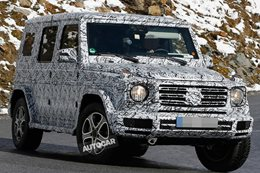 Mercedes-Benz G-Class expected