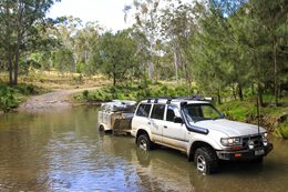 Condamine Gorge Track: Queensland