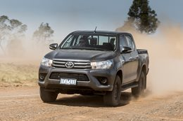 Toyota Hilux tops November's 4x4 sales charts