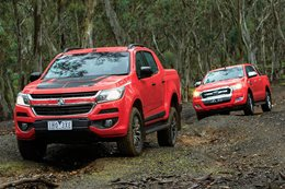 Holden Colorado Z71 vs Ford Ranger XLT