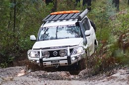 Supercharged Nissan Patrol Y62: Custom 4x4