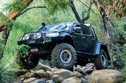 Mitsubishi Triton ML on 37s