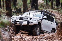 Supercharged Nissan Patrol Y62