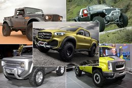 Top 5 concept 4x4 vehicles