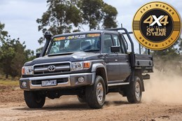 Winner: Toyota LandCruiser 79 Double Cab