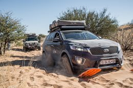 Front Runner-kitted Kia Sorrento tackles the Savannah