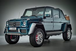 Mercedes-Maybach G650 Landaulet: details revealed