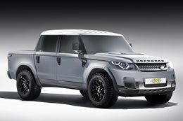 2019 Land Rover Defender ute main