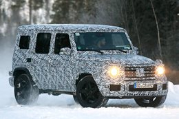 2018 Mercedes-Benz G-Wagen to go IFS main