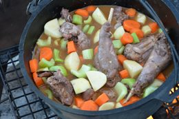 Recipe Bluebush Rabbit Stew main