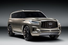 Infinity QX80 teased main