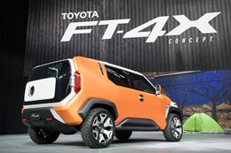 Toyota FT 4X concept main