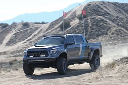 Custom Toyota Tundra Platinum Edition