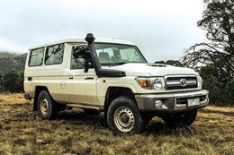 Toyota Land Cruiser VDJ78 Troop Carrier